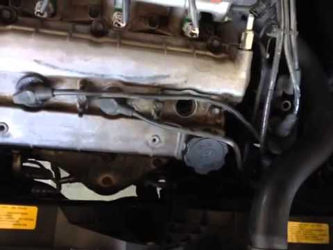 change spark plugs 1999 - 2003 2 5 liter hyundai so - youtube