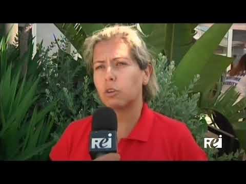 Luigi Di Pino - Cantastorie e pupari al Catania Cruise Port REI TV