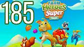 Farm Heroes Super Saga Level 185 Lösung Solution Walkthrough
