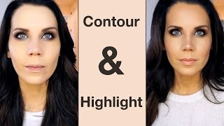 TUTORIAL | How To Contour & Highlight
