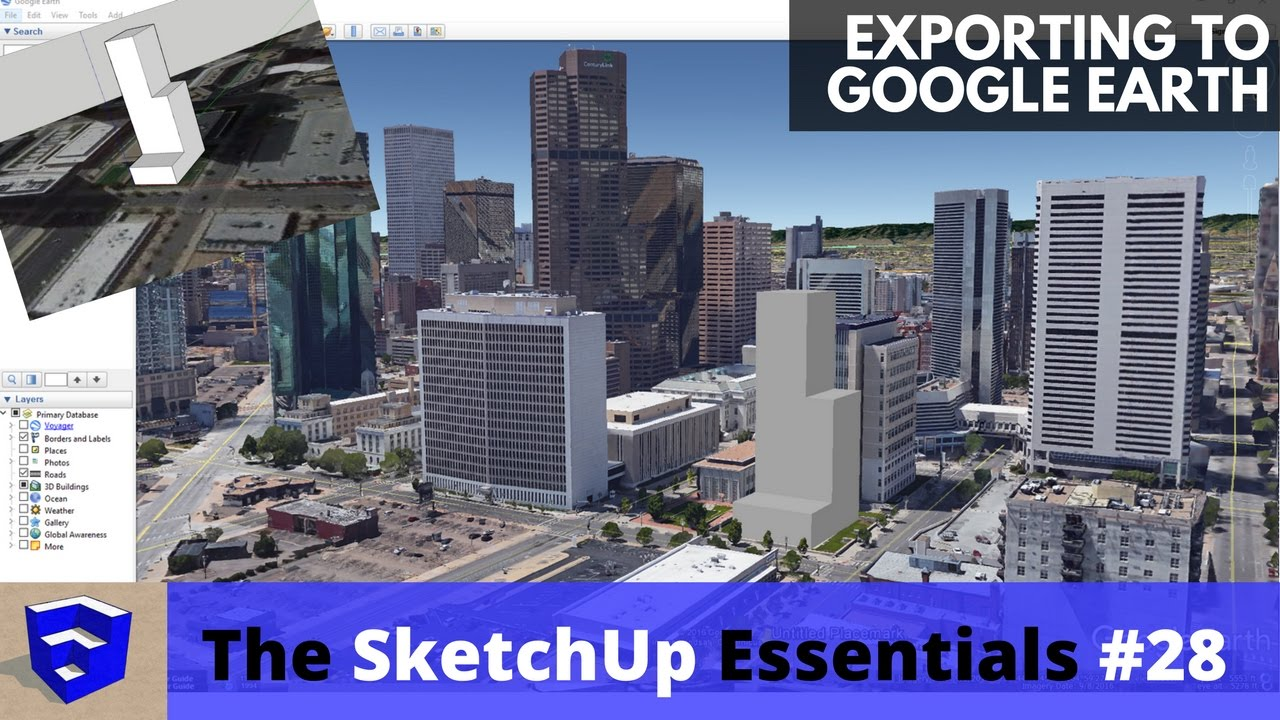 Free download 3d models for google earth.