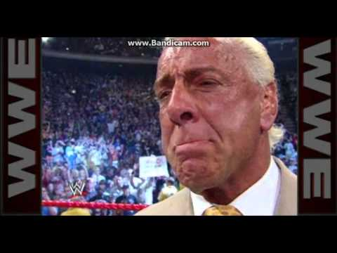 Ric Flair Cries Because Of 4 Horsemen