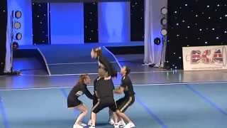 York Hornets Open Co-ed Level 3 Group Stunt at BCA Nationals 2013
