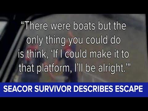 Seacor survivor describes his escape