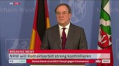 Live: Statement zur aktuellen Corona-Lage aus NRW