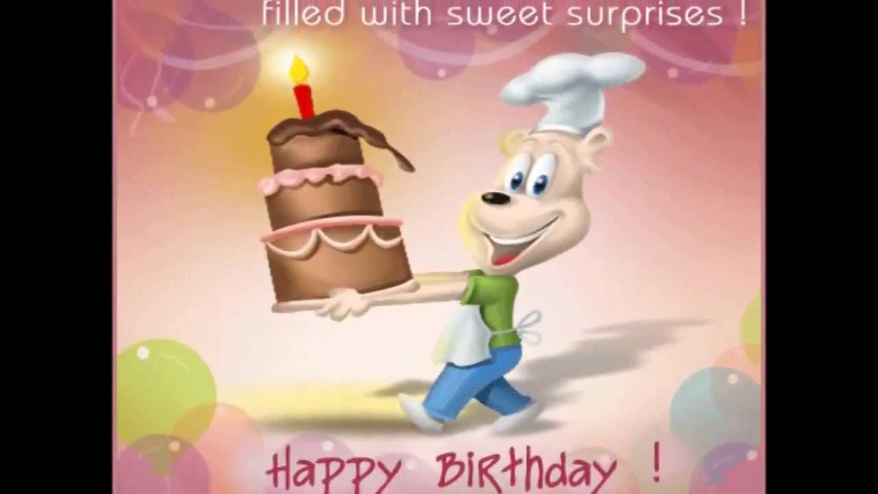 Chúc mừng sinh nhật bằng tiếng trung