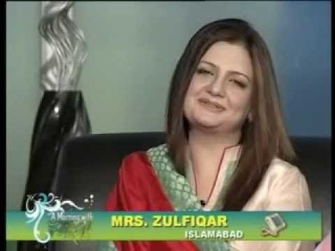 Farah Jahanzeb cooking expert post by Zagham