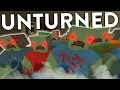 Unturned Funny Moments With Friends (Zombie Hordes, Drowning, Roaming and More!)
