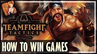 HOW TO WIN TFT GAMES - TOP GAME BREAKING COMBOS - Teamfight Tactics