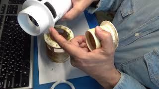 Замена сливной колонны в бачке унитаза своими руками