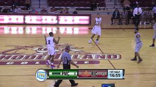 RIC Men's Basketball vs Pine Manor College 11/15/17