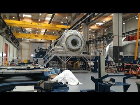 Visite en vidéo de l'usine d'éoliennes de General electric