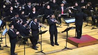 Trumpet Trio (Mexican trumpets, A trumpeter