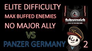 Hearts of Iron 4 - Hardest Possible Game - Fuhrerreich - Germany - Part 2