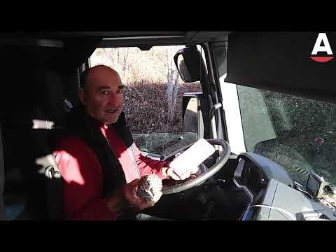 Camioneros españoles atrapados en el día de Navidad
