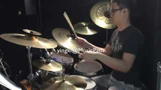 YingKi - Worship Drumming (Hillsong - Made Me Glad)