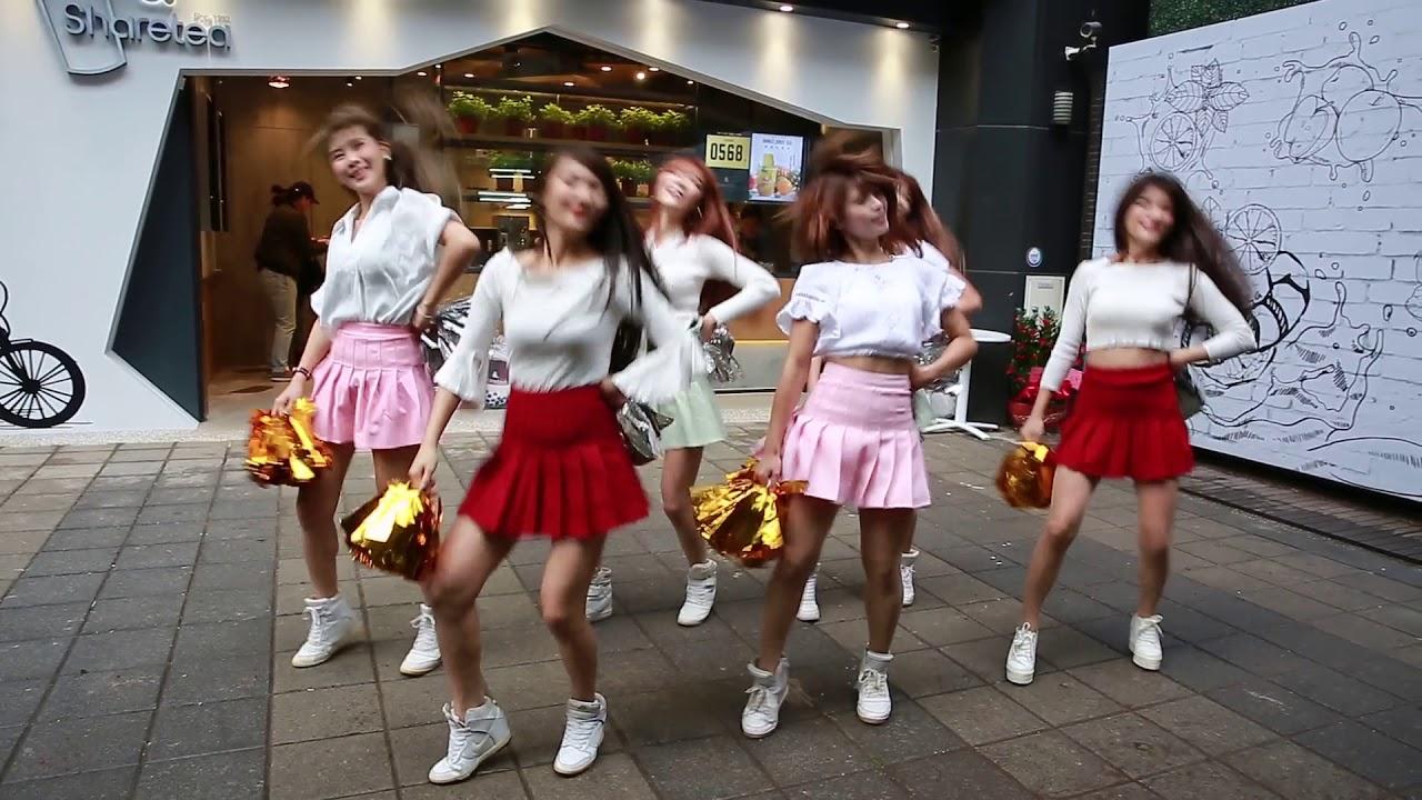 2017.12.9 西門sharetea開幕活動表演 - YouTube