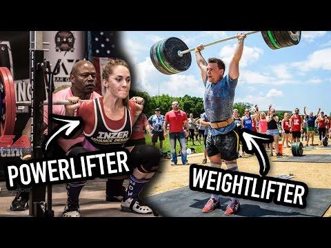 Powerlifter Tries Weightlifting (Part 2) - The Clean & Jerk