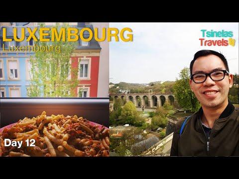 Solo Backpacking Europe | 10 Countries, 1 Month | Day 12 - Luxembourg