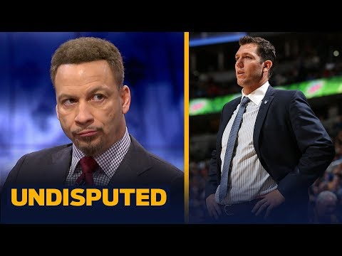 Chris Broussard reacts to reports of Luke Walton as the frontrunner for Kings job | NBA | UNDISPUTED