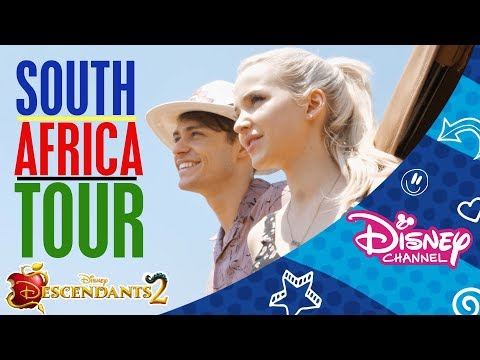 Descendants 2 | Cast on Tour in South Africa 🇿🇦  | Official Disney Channel Africa
