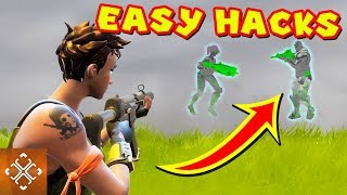 3 EASY FORTNITE HACKS TO GET YOU VICTORY ROYALE