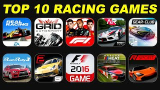 Top 10 Racing Gaṁes for Android & iOS | High Graphics