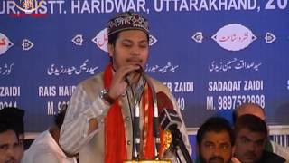 Salman Owaisi I Jashn-e-Imam Husain I Manglour, Uttarakhand I 2016