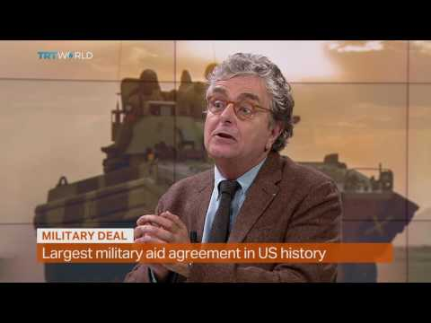 Money Talks: US military aid to Israel, interview with Craig Copetas