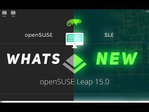 OpenSUSE Leap 15 : Made For Serious Linux Users!