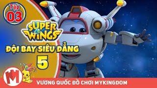 ĐỘI BAY SIÊU ĐẲNG - Phần 5 | Tập 3 : Giao bánh Baursaki lên mặt trăng - Phim hoạt hình Super Wings