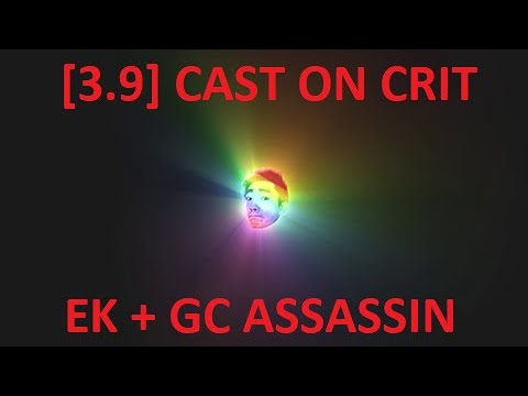 [3.9] Cast on Crit Ethereal Knives & Glacial Cascade mk. 1
