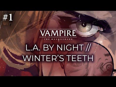 LA by Night meets Winter's Teeth (Patrick Rothfuss, Erika Ishii, B. Dave Walters, Tini Howard) #1
