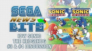IDW Sonic the Hedgehog #3 & #4 Discussion