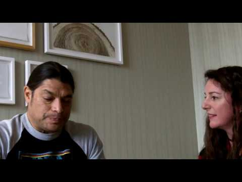 My interview with Robert Trujillo from Metallica