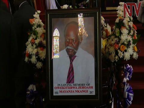 Former Buganda Prime Minister Mayanja Nkangi eulogised as an incorruptible man