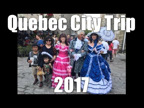 Quebec City Trip 2017 - Daily VLOG #969 (Aug 12/17)
