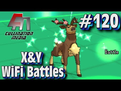 Pokemon X and Y WiFi Battle (LIVE) #120: Sawsbuck's Sunny Days