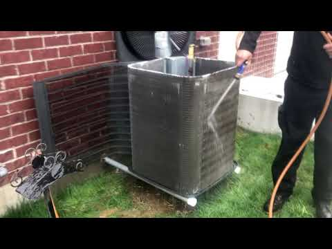 HVAC Condensing Coil Cleaning