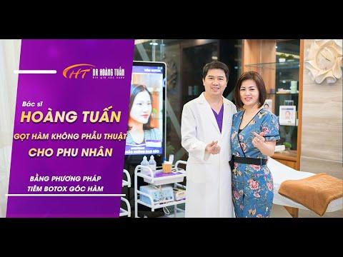 Bác sĩ Hoàng Tuấn làm đẹp cho vợ – Tiêm Botox Gọt Hàm Không Phẫu Thuật | Dr Hoàng Tuấn
