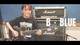 BOØWY「B・BLUE」ギター 弾いてみた ささき さくら Sakura Sasaki