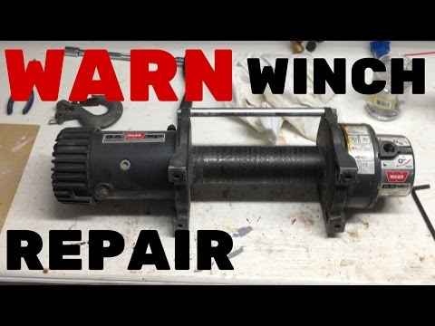 WARN WINCH REPAIR | Rebuilding Warn 9.5XP Winch