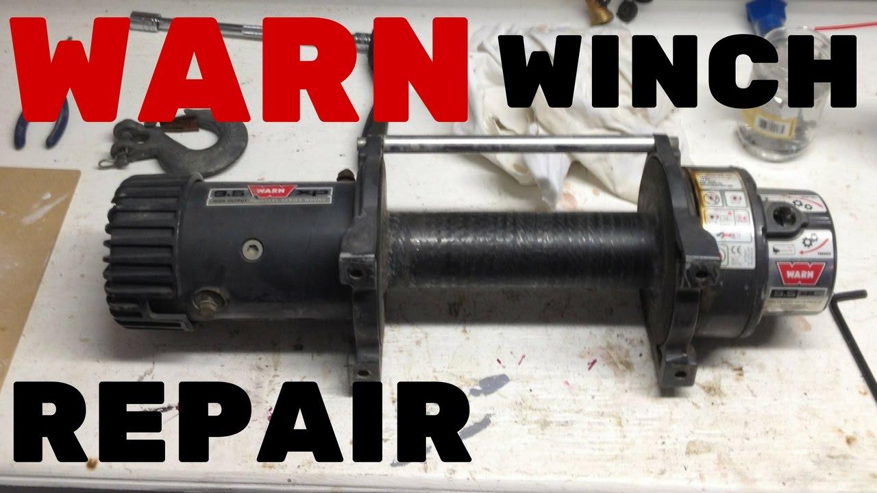 Warn Winch Spares Australia 76080 Wiring Diagram Repair Rebuilding 9 5xp You
