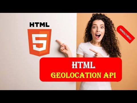 HTML5 24 Geolocation API IN HINDI