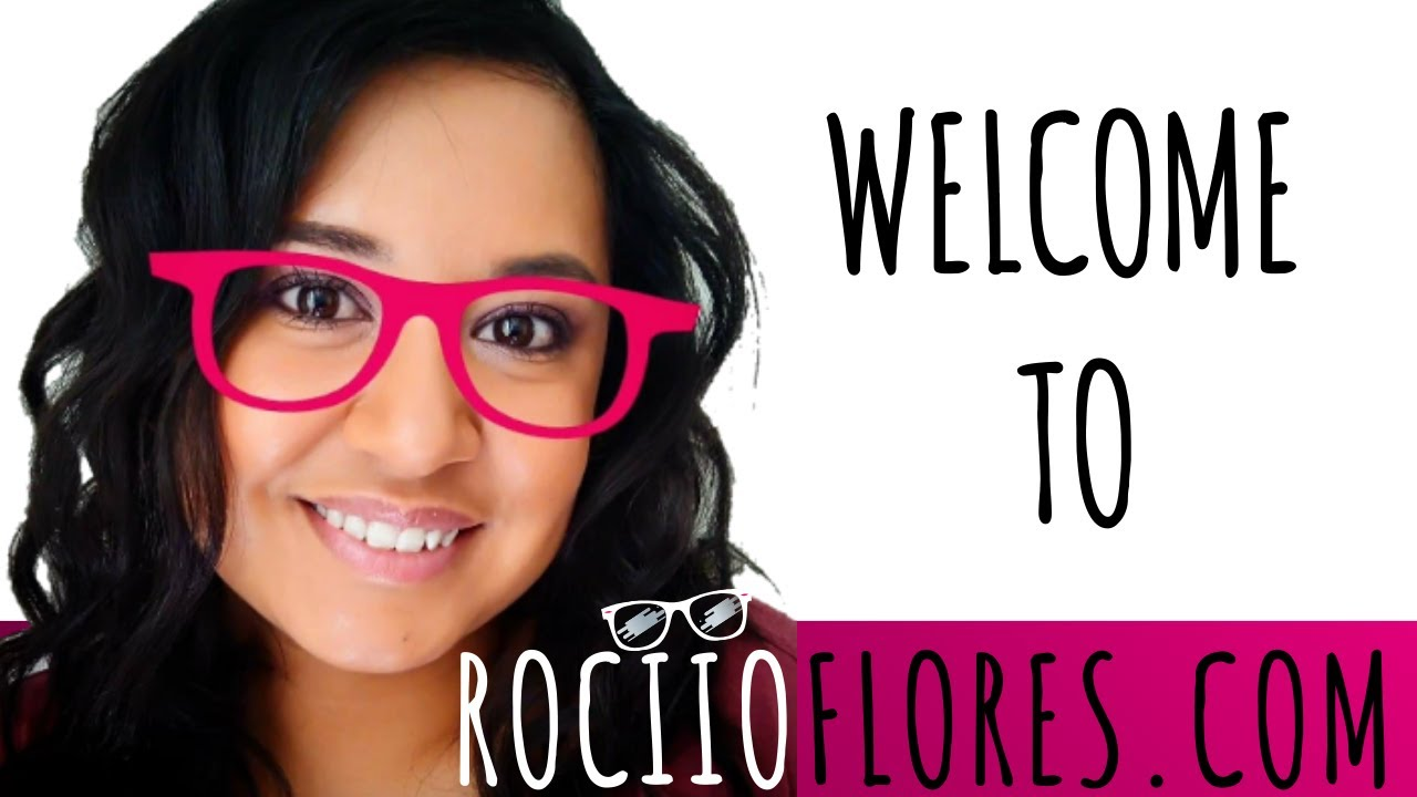 RociioFlores.com Full Website Intro Video