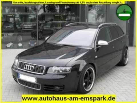 audi a4 avant 3 0 tiptronic quattro avant s line schwarz metallic youtube. Black Bedroom Furniture Sets. Home Design Ideas