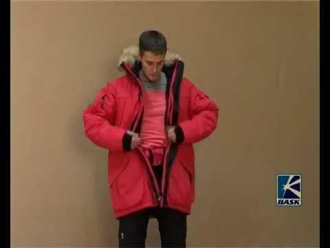 Самая теплая аляска куртка Баск ANTARCTIC