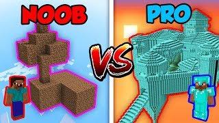 Minecraft NOOB vs. PRO: ISLAND in Minecraft!
