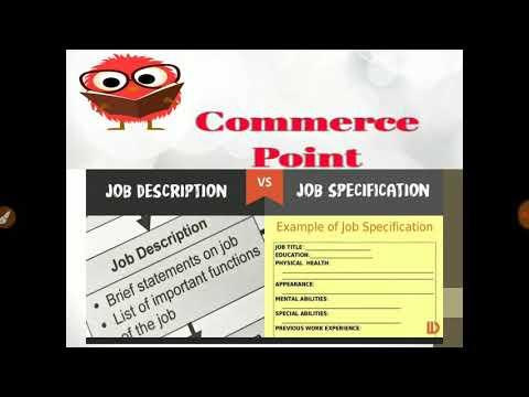 Job Description v/s