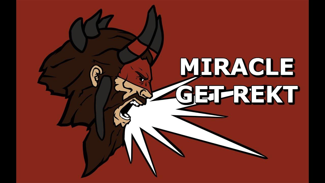 Miracle Beastmaster Get Rekt Pro Dota 2